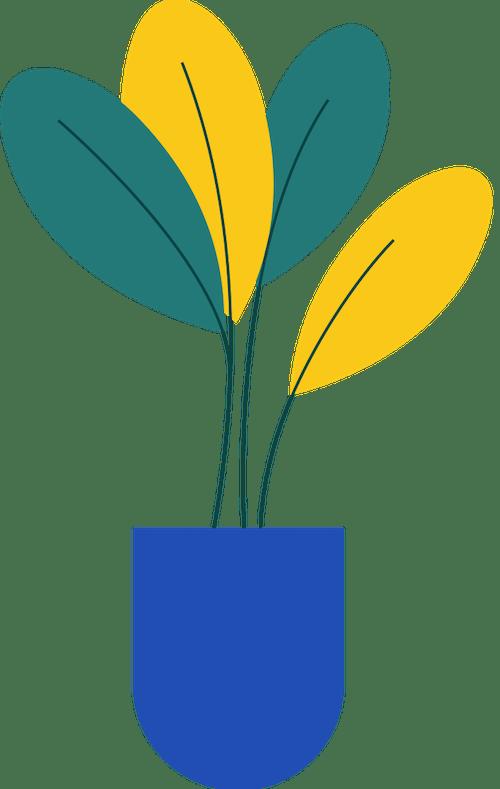 Tall Vase Plant 2