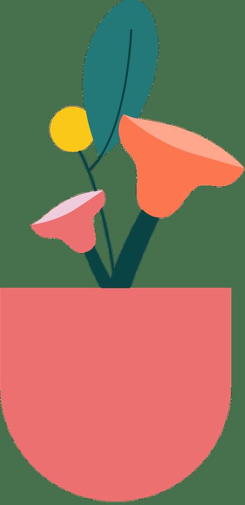 Tall Vase Plant 3