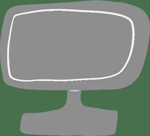 Grey Monitor