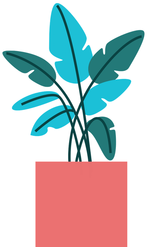 Tall Vase Plant 5